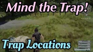 FFXV - Mind The Trap Side Quest [Remove Old Traps]