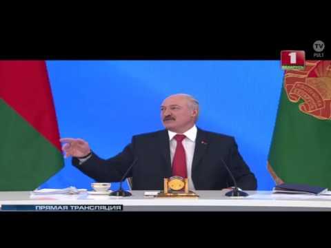 Большой разговор с Лукашенко 03.02.2017. Нефтегазовый конфликт с Россией