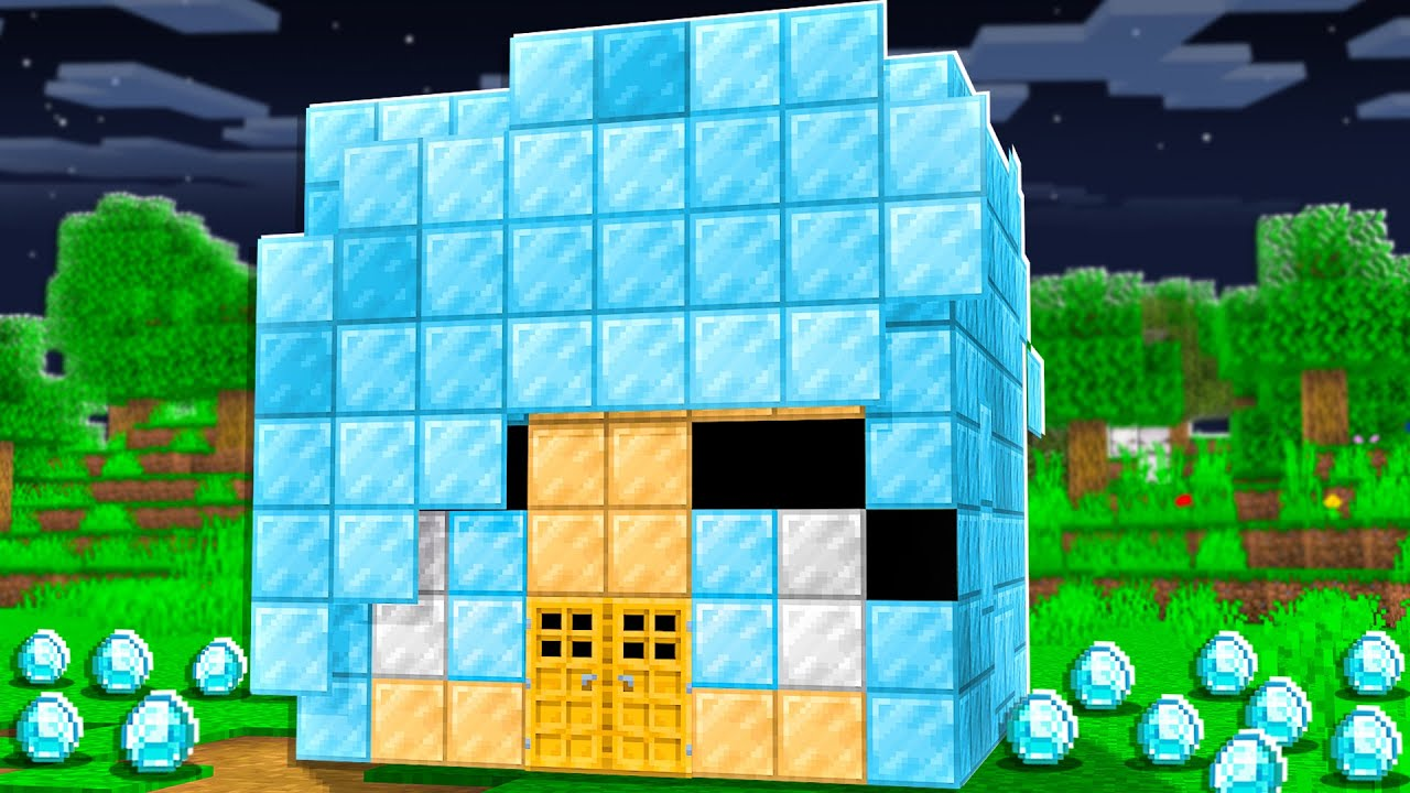 Download Extreme DIAMOND ONLY House Battle in Minecraft!
