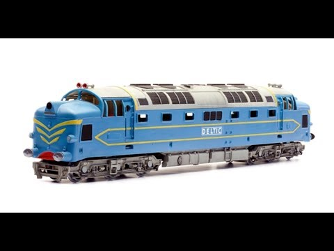 DAPOL MODEL RAILWAY CLASS 55 ENGLISH ELECTRIC DELTIC OO SCALE 1/76 PLASTIC KIT