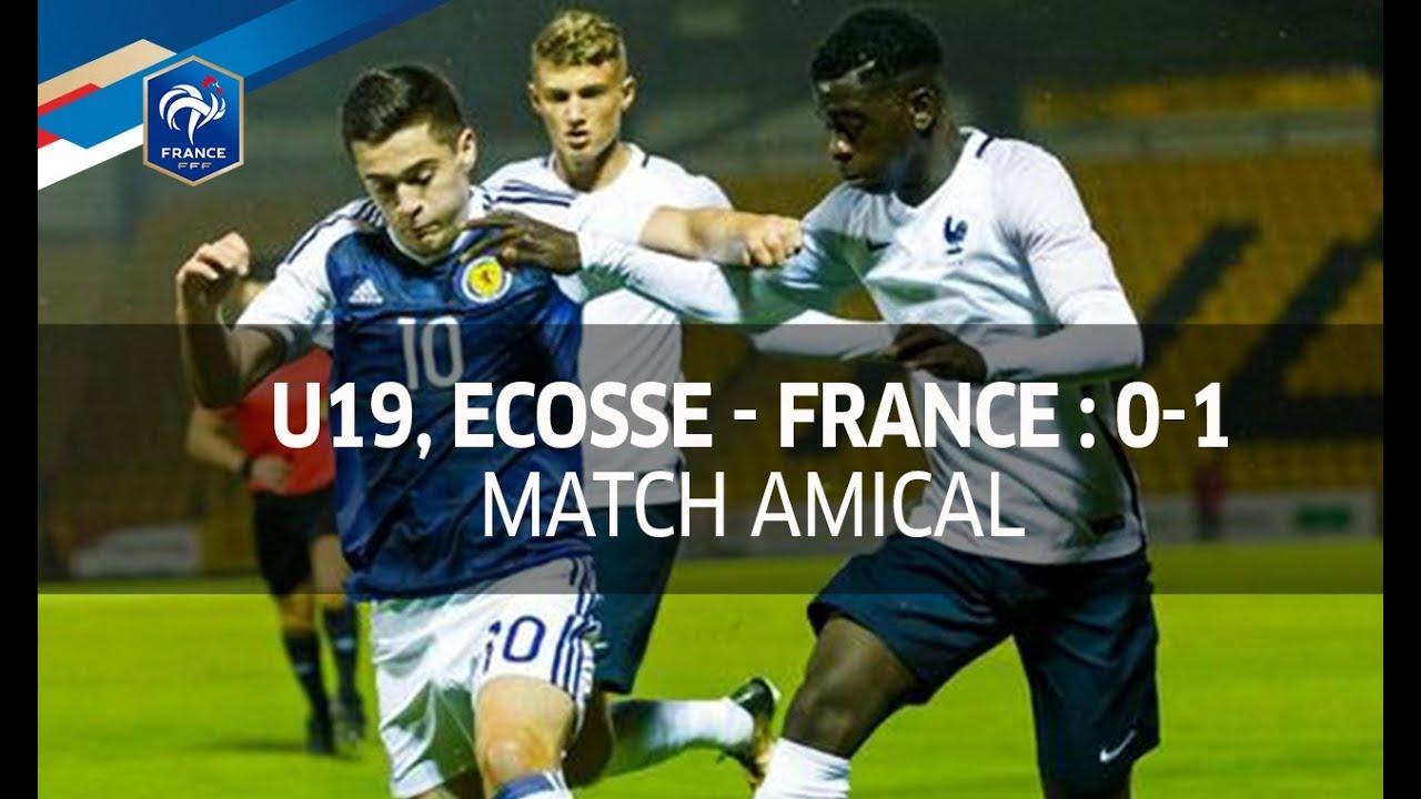 U Amical Ecosse France Le R sum I FFF YouTube