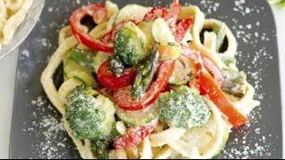 Watch Recipe: Pasta Primavera