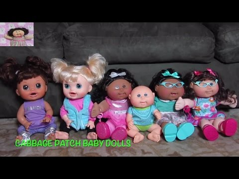CABBAGE PATCH BABY DOLLS best of  2016 Compilation Video! Strollers +party + cribs + high chairs