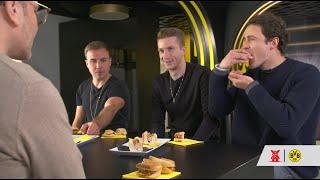 Erkennt man Veggie am Geschmack? | BVB-Profis Götze, Reus und Delaney machen den Test