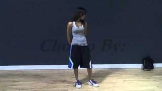 bryanna payne dances to chris brown no bs