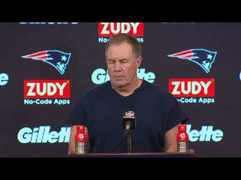 New England Patriots Bill Belichick FULL Live Post Game ...