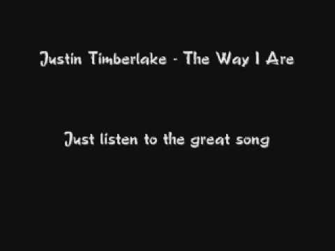 Timbaland feat. Justin Timberlake- The way I are (remix)