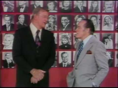 Bob Hope and John Wayne on TV