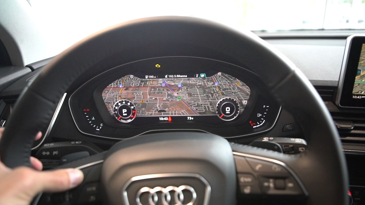 2018 Audi Q5 Interior Overview Youtube