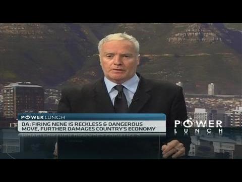 DA leader responds to Minister Nene's removal