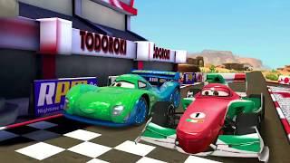 Francesco Bernoulli Vs Carla Veloso & Ramone Disney Cars Racing for Kids Gameplay