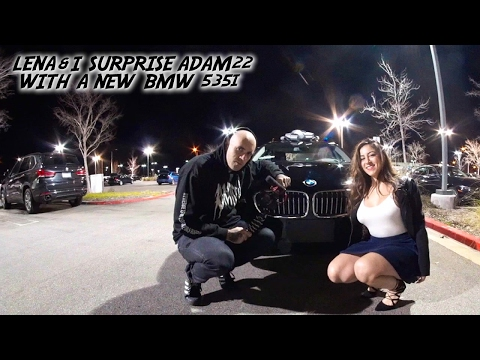 I SURPRISED ADAM22 BY BUYING HIM HIS DREAM CAR!!!