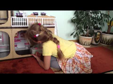 видео: Мой домик для Барби / beautiful house for barbie