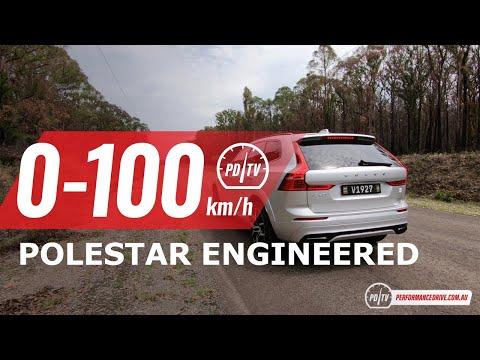 2020 Volvo XC60 T8 Polestar Engineered 0-100km/h & Engine Sound