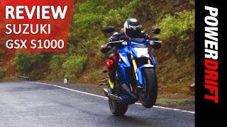 Suzuki GSX S1000 : Review : PowerDrift(, 2015-07-14T08:11:03.000Z)