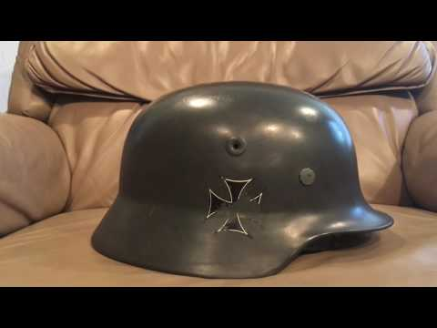 West German m52 stahlhelm