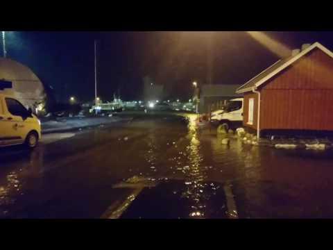 Oversvømmelse Assens v værftet
