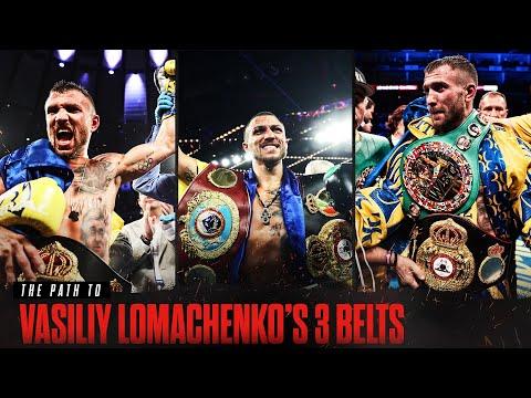 The Path to Vasiliy Lomachenko's 3 Belts   3 FREE CHAMPIONSHIP FIGHTS