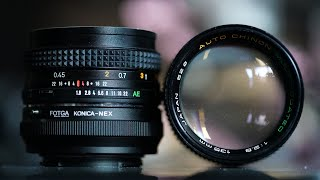 Vintage Lens Cleaning (ASMR)