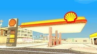 Inatalar una Gasolinera Shell para el GTA San Andreas