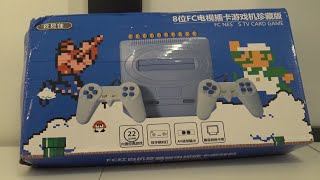 Cool Baby Famicom Clone with Sega Casing 😨