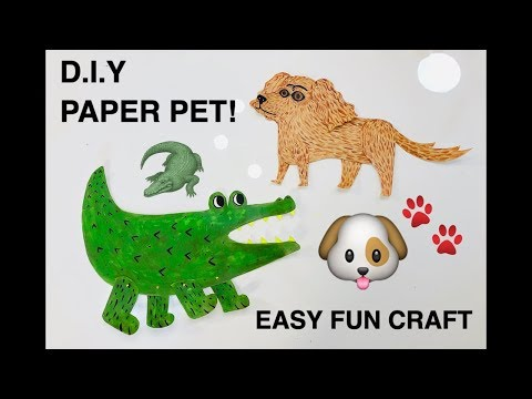 FUN CRAFT- Diy Paper doll