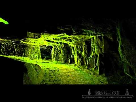 3d Laser Scanning Underground Mine Mapping Youtube