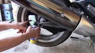 Шинонаполнитель .Испытание герметика для колёс (бескамерная покрышка)(, 2015-06-10T07:06:50.000Z)
