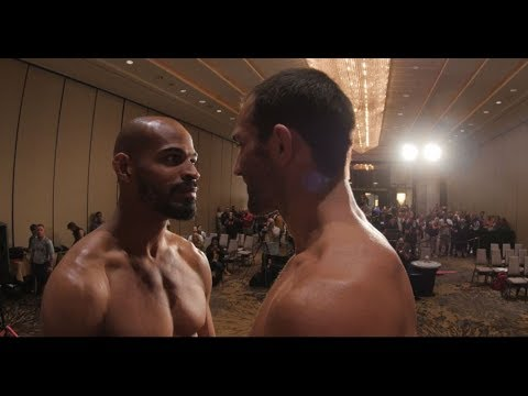 Fight Night Pittsburgh: Weigh-in Faceoffs