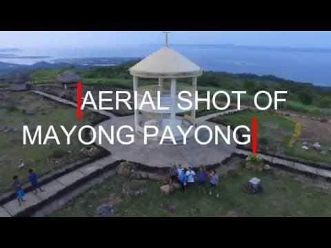 DJI PHANTOM 3 AERIAL SHOT OF MT. MAYONG PAYONG, MOBO, MASBATE, PHILIPPINES