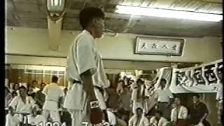 極真 中村道場交流試合1994 堀池典久準々決勝