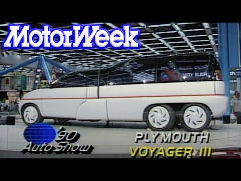 1990 Detroit North American International Auto Show | Retro Review