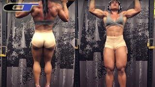 DA REAL HULK GIRL TRAINING - Part 2  (Alessandra Alvez)