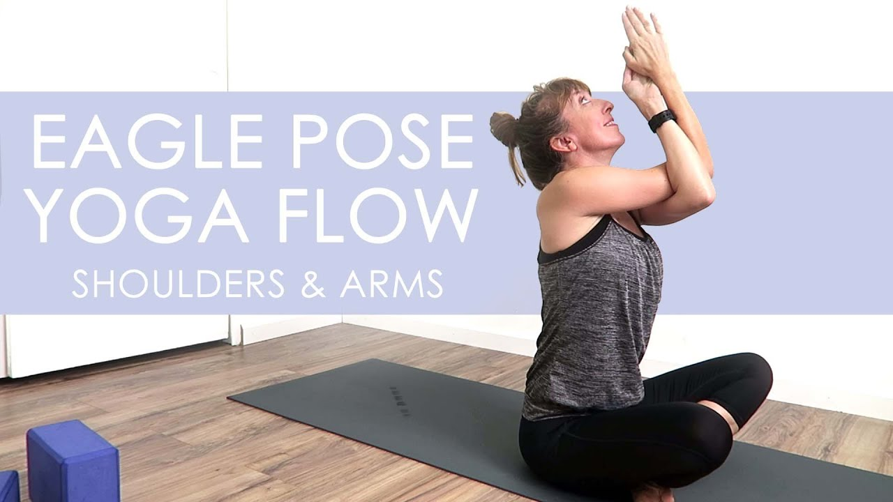 Shoulder mobility yoga, 50 Minute Eagle Pose Sequence   Di Hickman