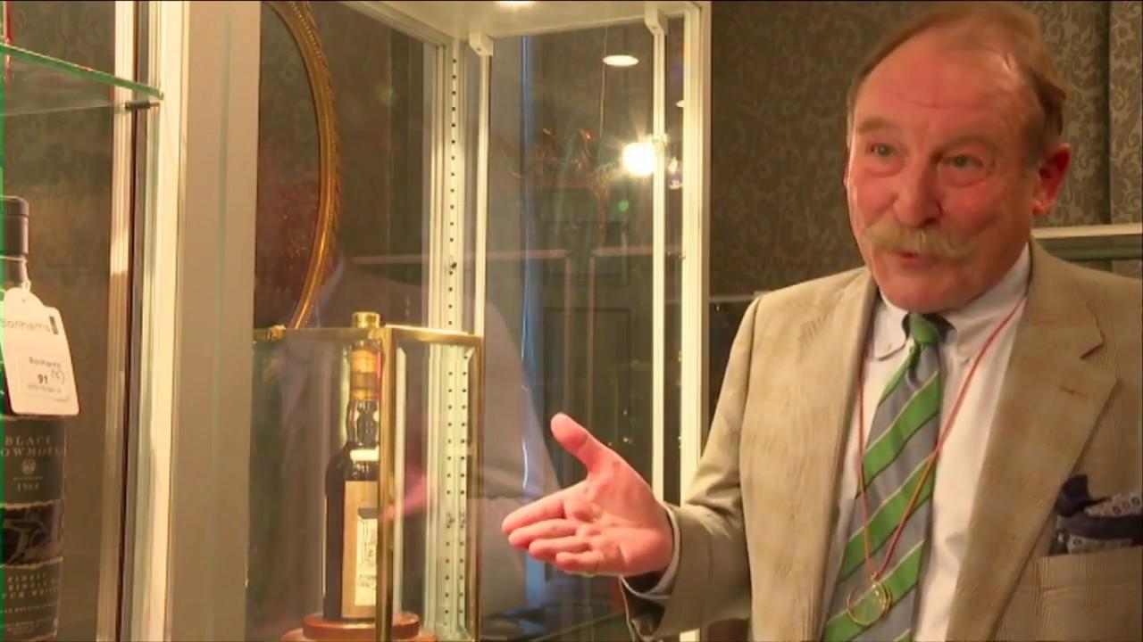 STV News - Charles MacLean ahead of the Bonhams whisky sale