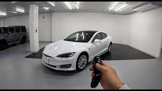 2018 Tesla Model S P100D -  Autopark + Walkaround 4k