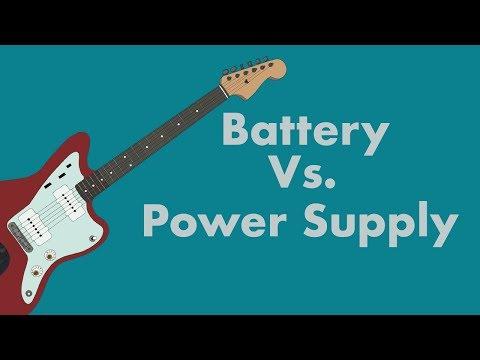 Battery Vs. Power Supply w/ Vertex Battery Power Supply