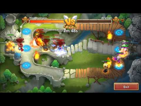 Double Evolved Skull Knight DOING 2,000,000 DAMAGE Arena Clips Castle Clash