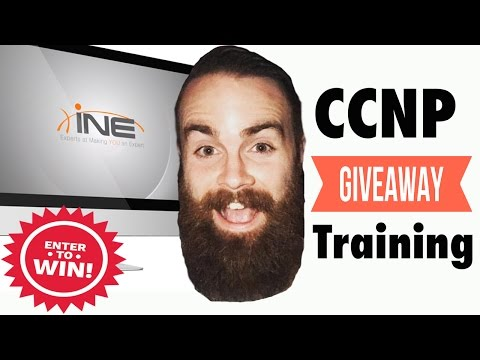 GIVEAWAY!! - INE CCNP Routing & Switching COMPLETE Training Bundle