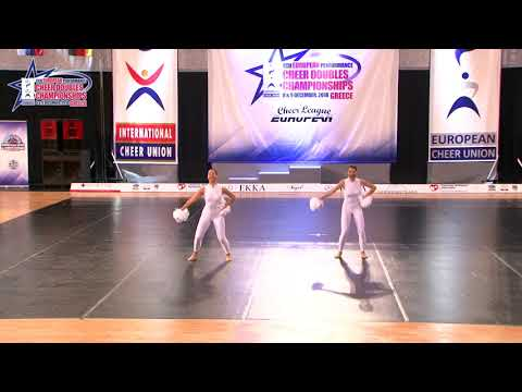 106 JUNIOR DOUBLE FREESTYLE POM Stamataki   Damanaki TEXNI & ATHLISI RETHYMNOU GREECE