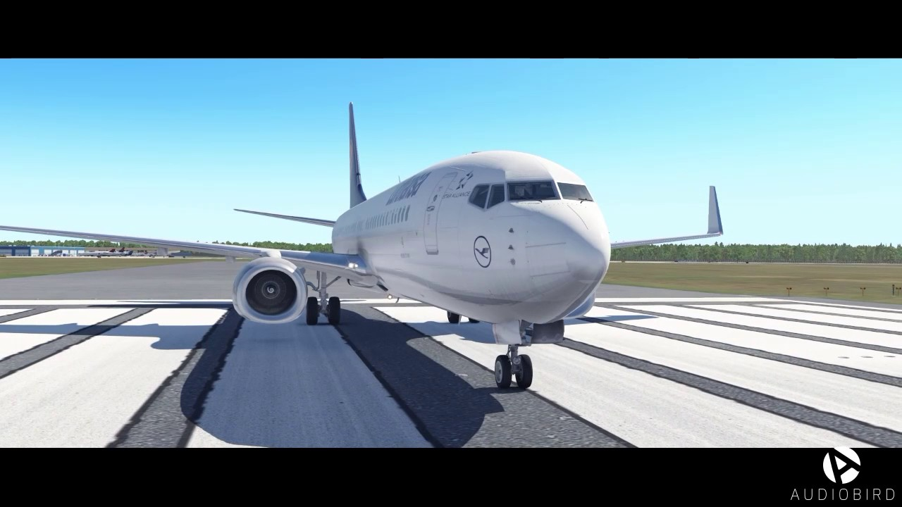 3D sounds for the 737-800 (X-Plane 11) by audiobird xp