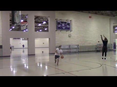 Vernon Vaughn Basketball Workout