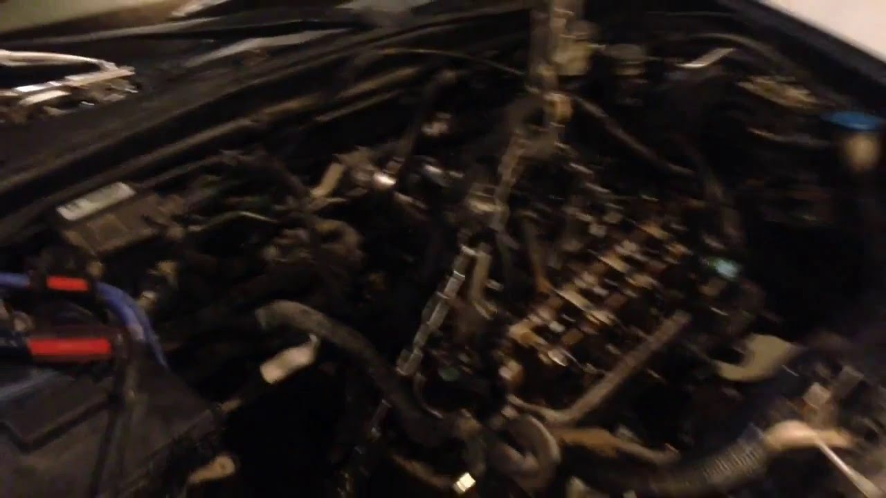 2001 05 Honda Civic Rod Knocking And Engine Transmission Removal From The Top Not Bottom Youtube