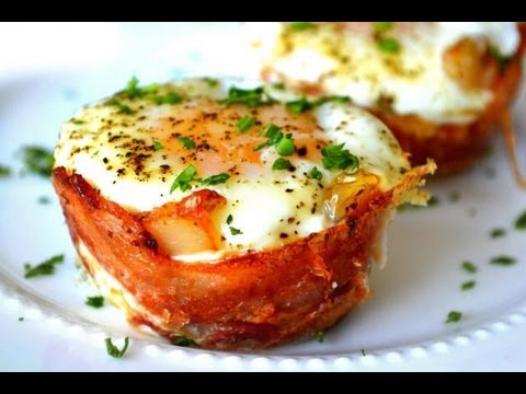 Mini Bacon Egg Toast Breakfast CupsMothers Day BrunchYouTube