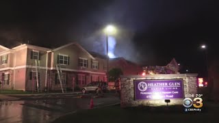 Eight People Injured In Fire At Senior Living Center In Lehigh County, Officials Say