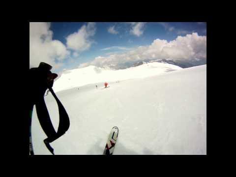 Lo sci estivo : passo dello stelvio, 3 giugno 2015