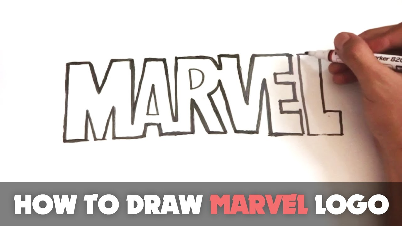 how to draw marvel pdf