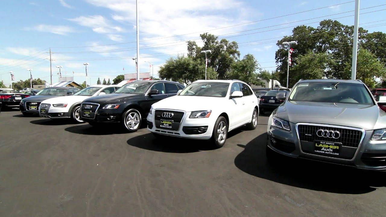 Audi Elk Grove >> Lasher's Elk Grove Audi - YouTube