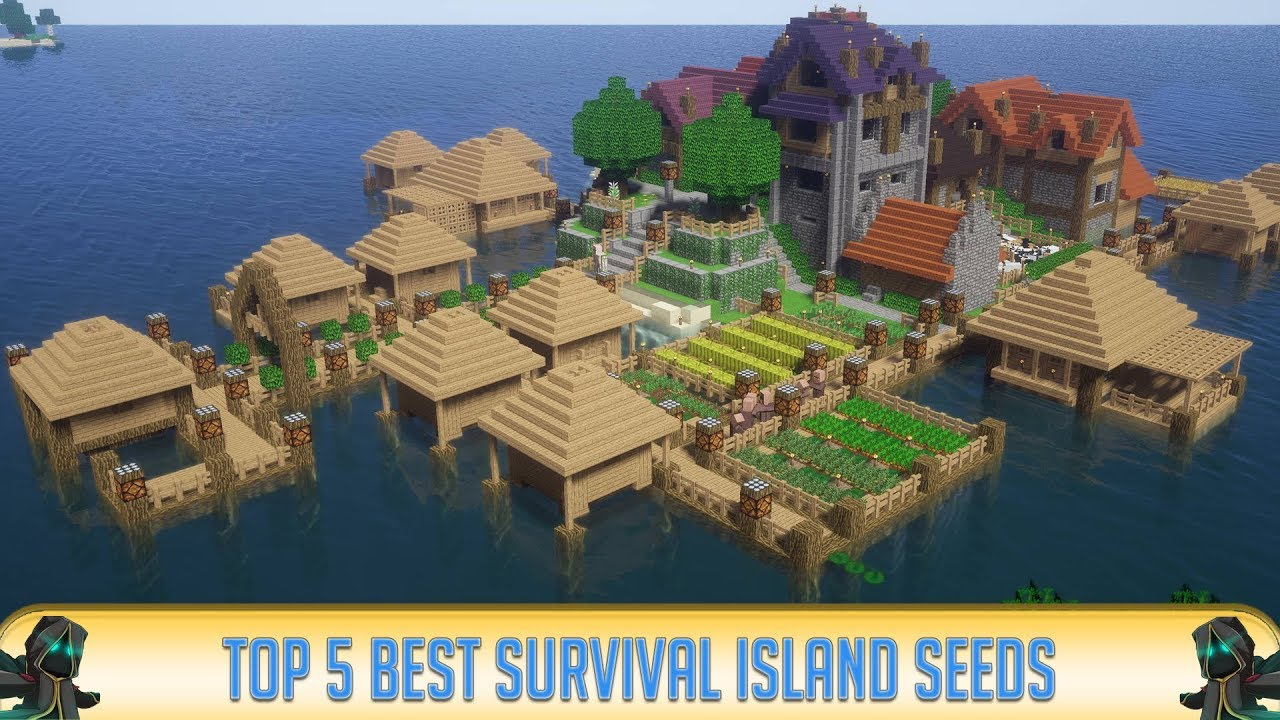 ✔ Minecraft: Top 10 Best Survival Island Seeds of All Time (10)