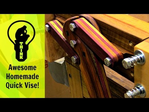You Won't Believe This Homemade Quick Vise!